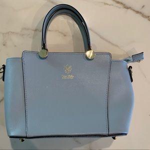 Handbags - Light blue Italian purse